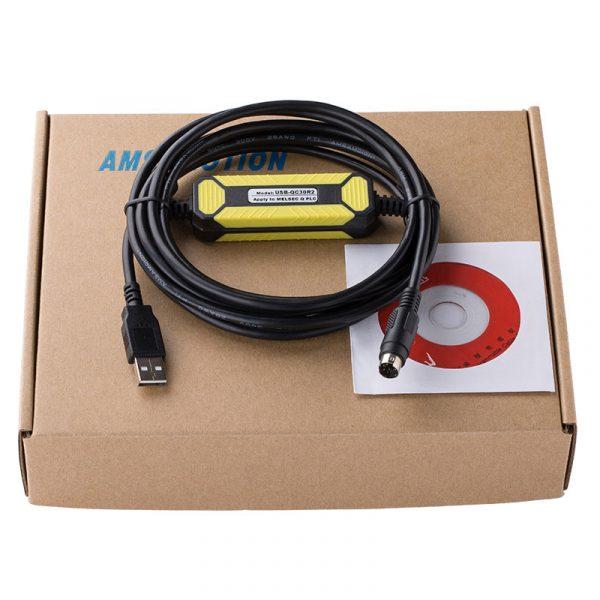 Mitsubishi Q Series plc Programming Cable