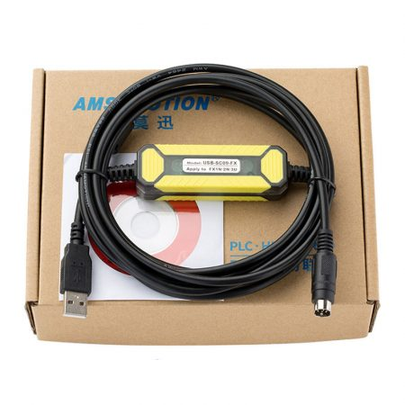 Mitsubishi FX0N FX1N FX2N FX0S FX1S FX3U FX3G PLC Programming Cable