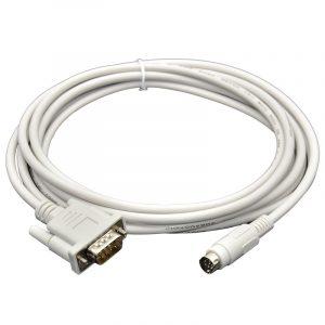 Mitsubishi F940/930/920 Touch Screen Connect Mitsubishi FX PLC cable