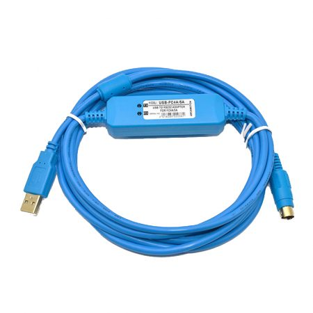 IDEC series plc programming cable