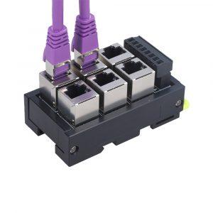 RJ45 Network to Ethernet Terminal